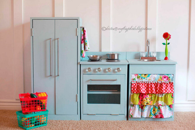 Make your own toy kitchen for kids