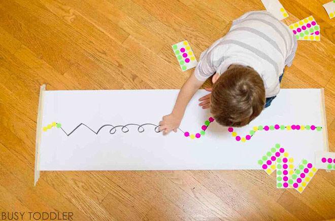 sticker-line-toddler-fine-motor-skills