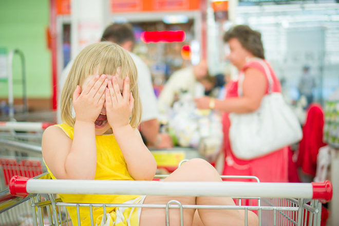 Tips for Shopping with Kids