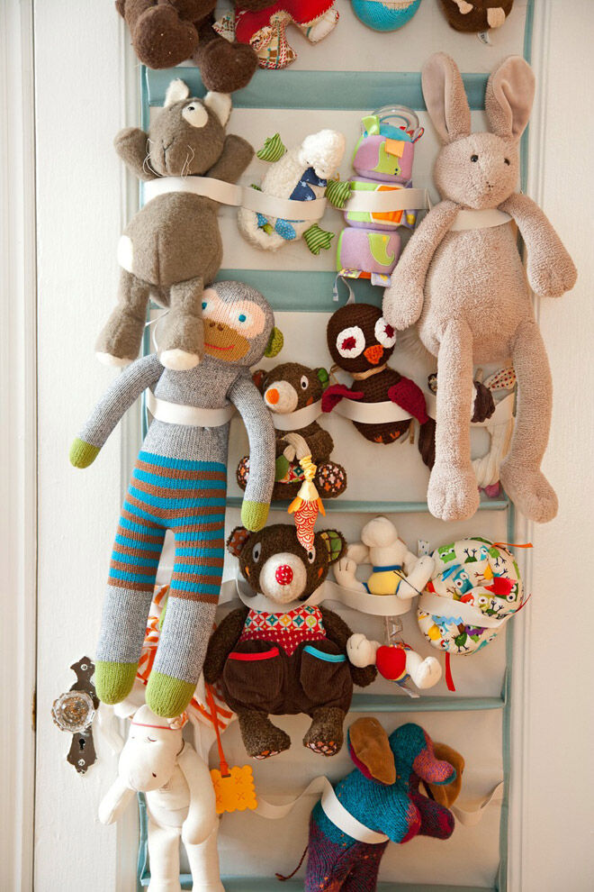 apartment therapy soft toy storage toddler