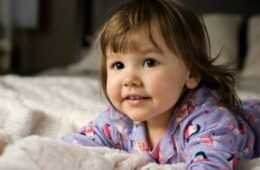 toddler on bed - sleep regression