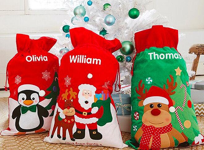 Identity Direct Santa Sack and Stocking