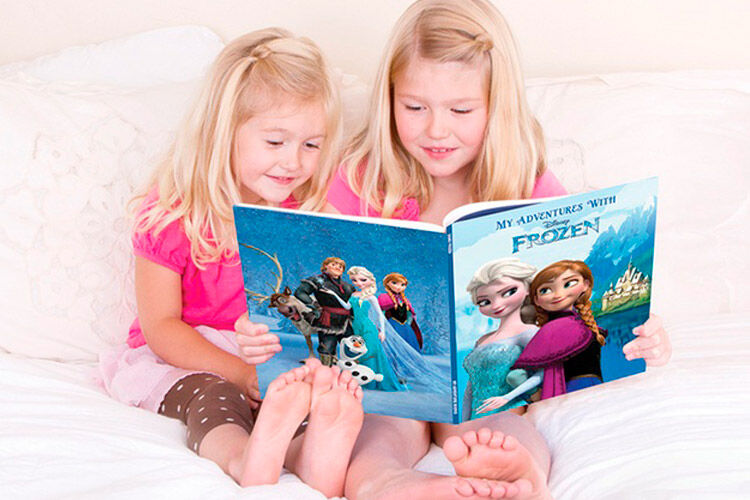 identity direct personalised Frozen story book