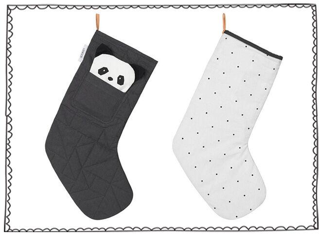 Liewood Santa Stocking - Panda