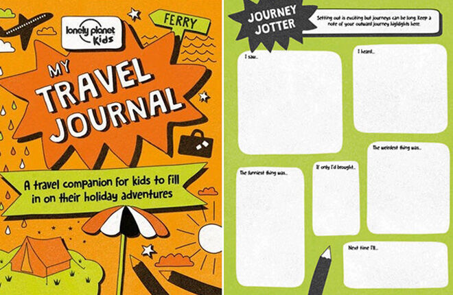Lonely Planet Kids Travel Journal