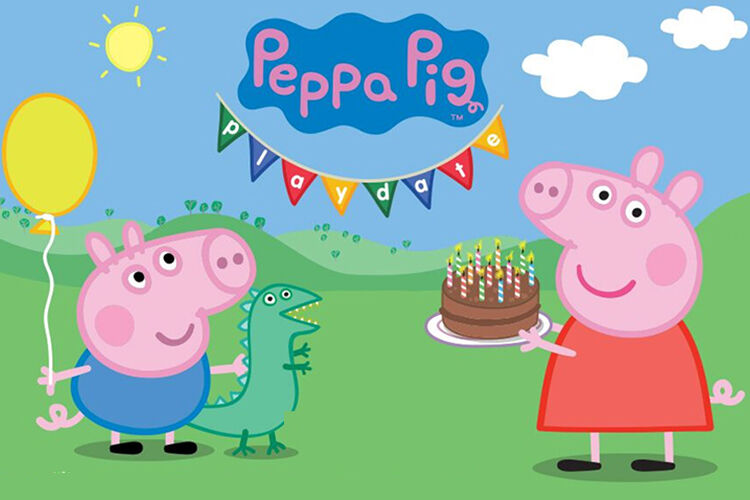 Peppa Pig Playdate Interactive experience