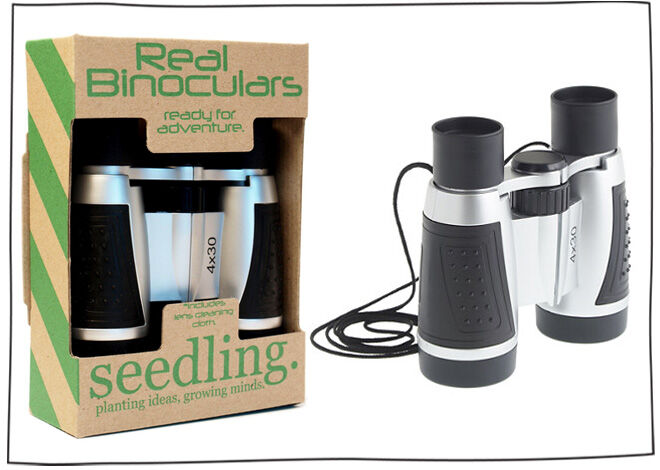 Real Binoculars Seedling Blackbird and Fox