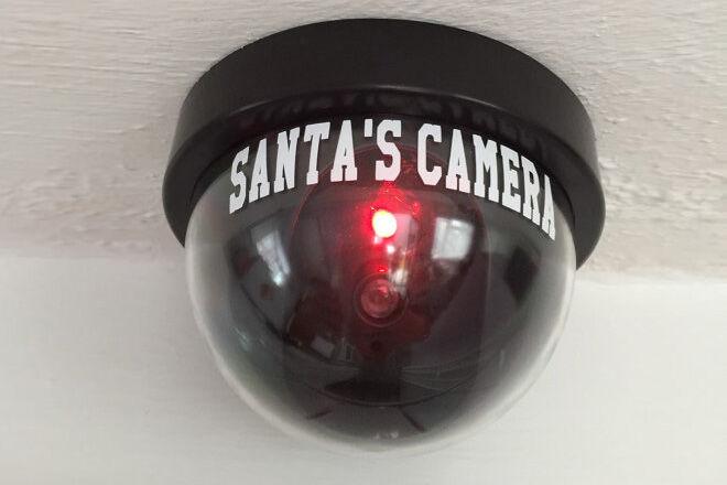 surveillance Santa camera