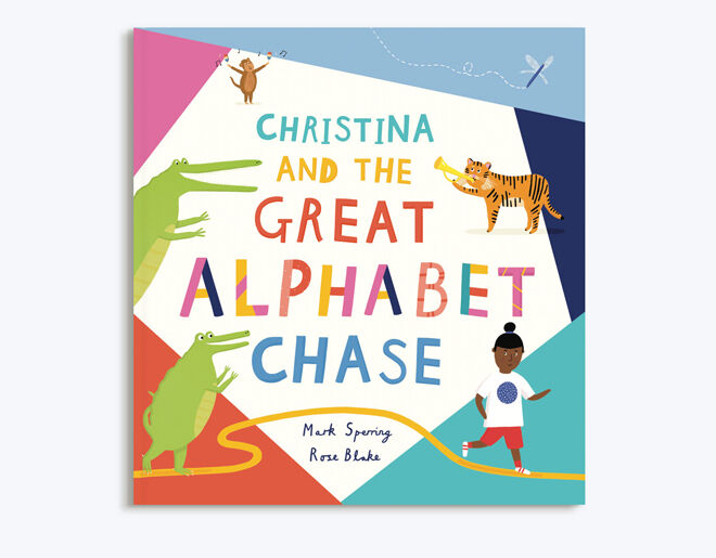 The Great Alphabet Chase personalised book