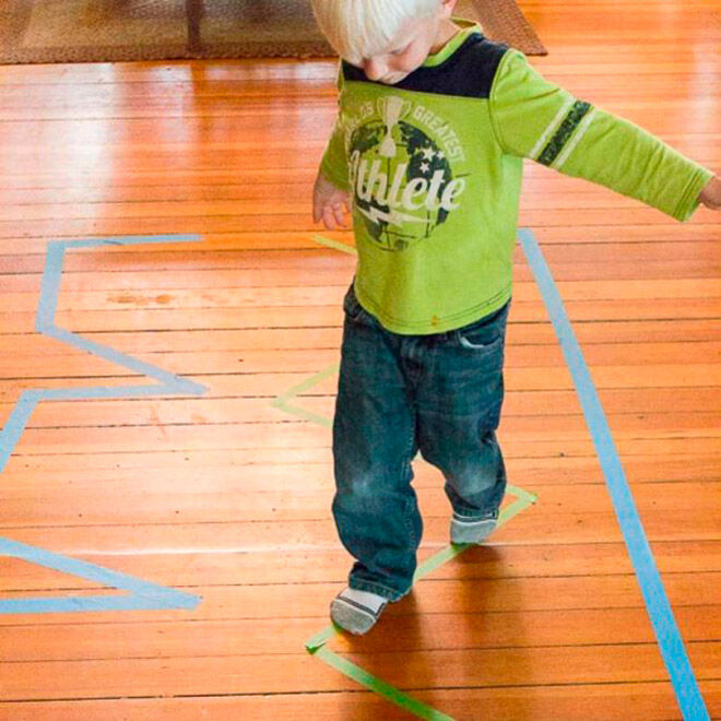 balance gross motor skills preschooler
