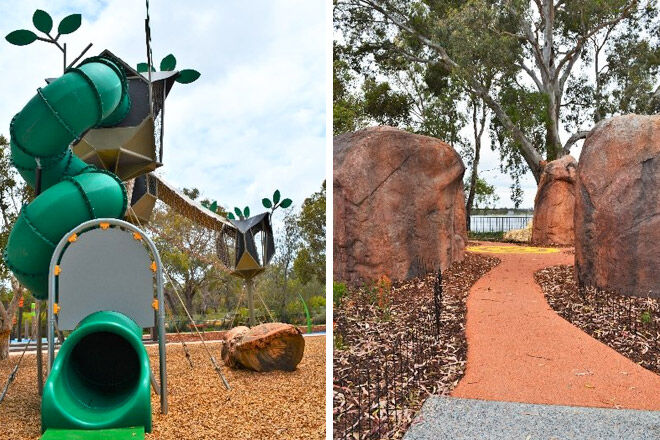 bibra lake regional playground perth wa