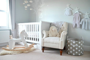 creating a tranquil baby nursery