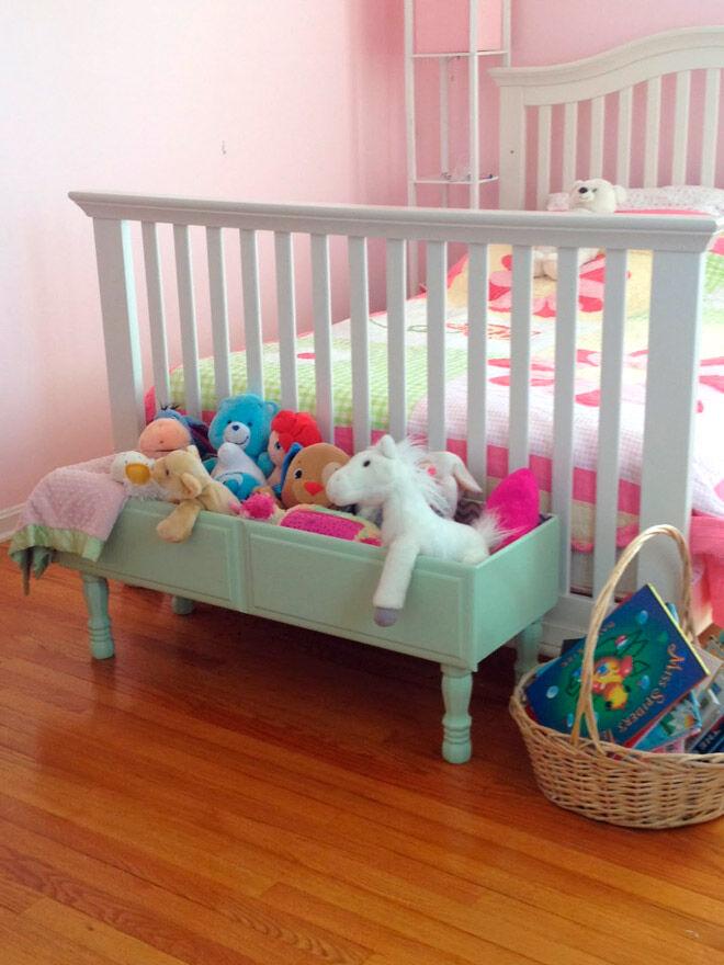 diy dresser soft toy storage box toddler