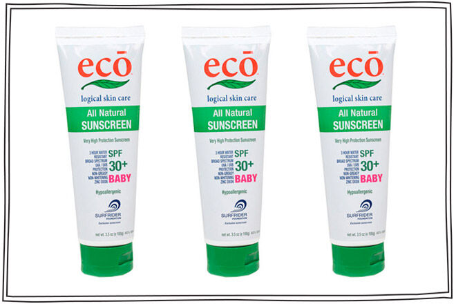 eco logical baby sunscreen