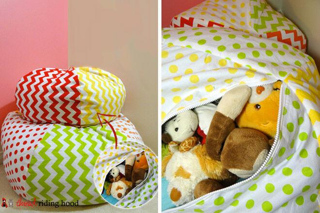 googiemomma soft toy storage toddler