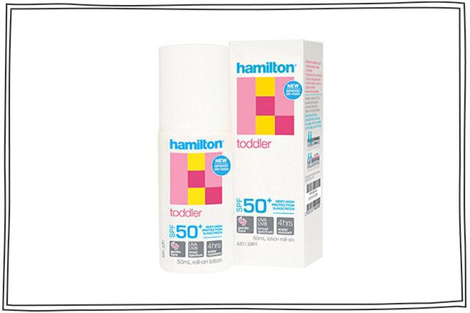 hamilton toddler baby sunscreen