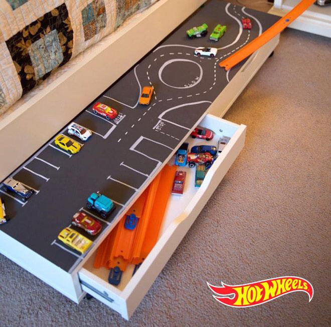 hot wheels toy car storage