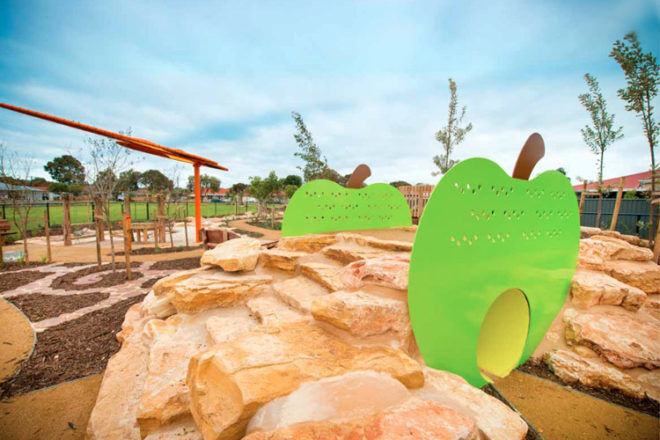 fully fenced playground nature play adelaide