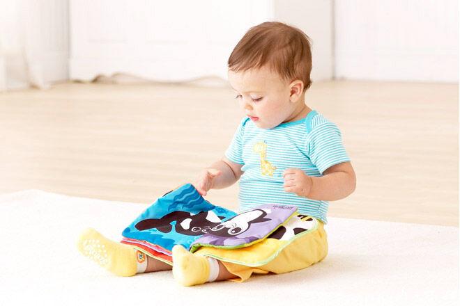 lamaze baby cloth book plane travel