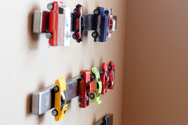 Magnets For Cars >> Room for vroom: 17 ways to organise and store toy cars