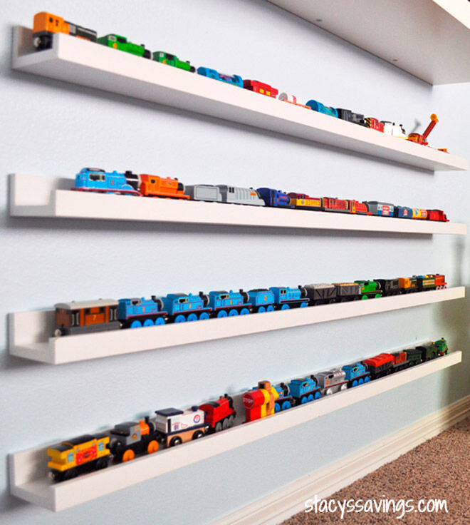 Room For Vroom 17 Ways To Organise And Store Toy Cars