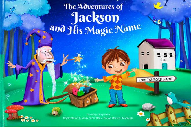 my magic name book personalised kids story
