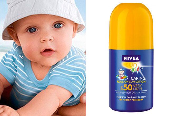 nivea sun kids caring baby sunscreen