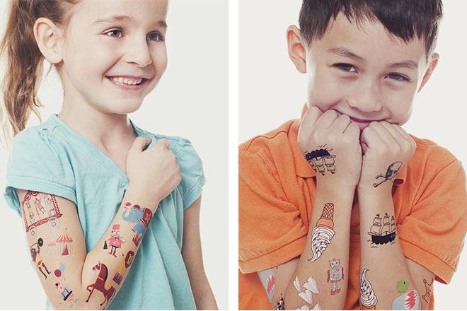 Tattly temporary kids tattoos