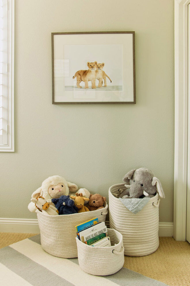 the honey bee soft toy storage toddler