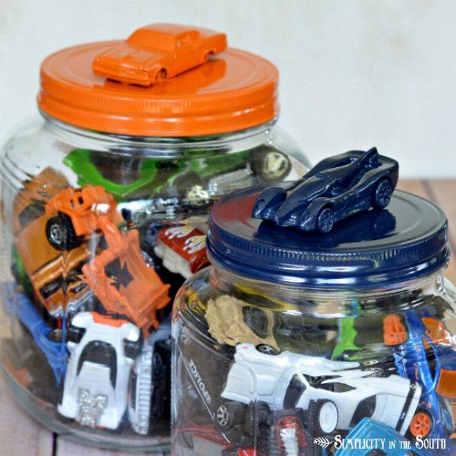 toy car jar