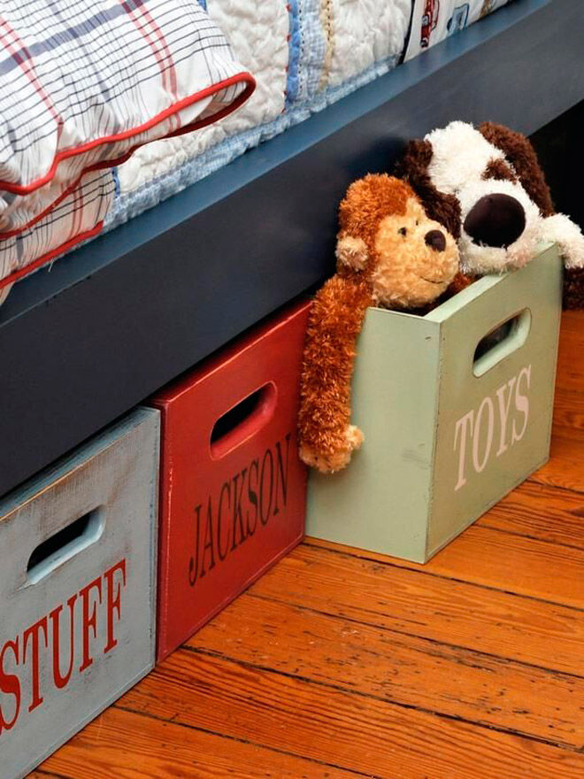 under bed storage soft toy toddler