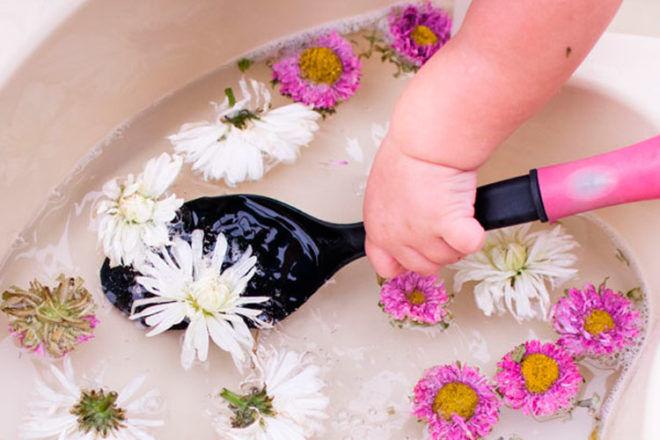 water play toddler