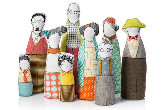 Handmade Family Portrait dolls Etsy