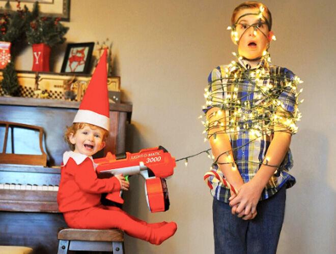 Real Life Elf on the Shelf Baby Returns