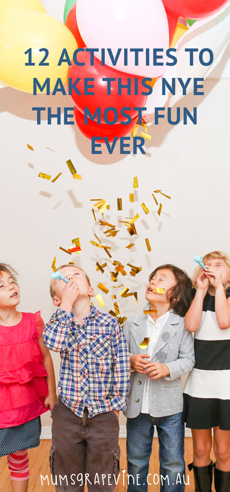 12 New Year Eve activities for kids