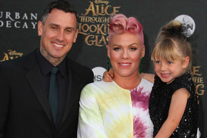 Pink welcomes baby number two