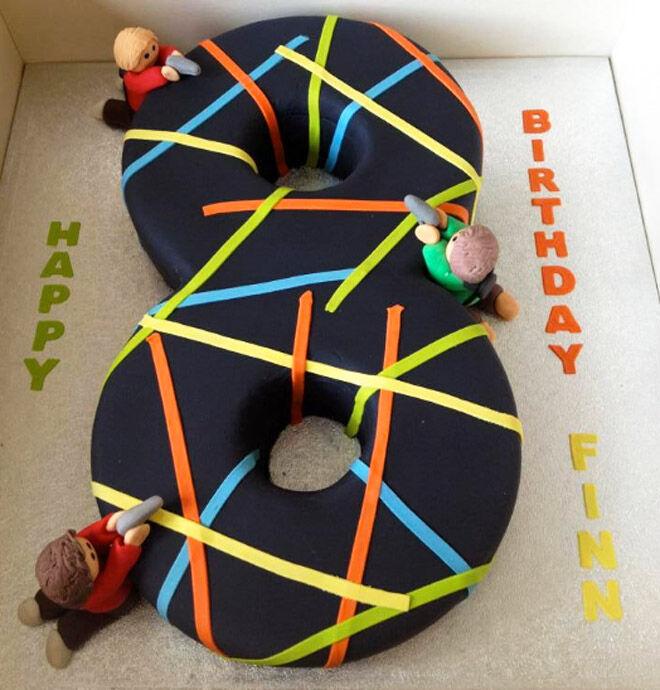 laser number cake kids