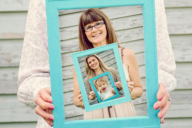 multi generation family photos