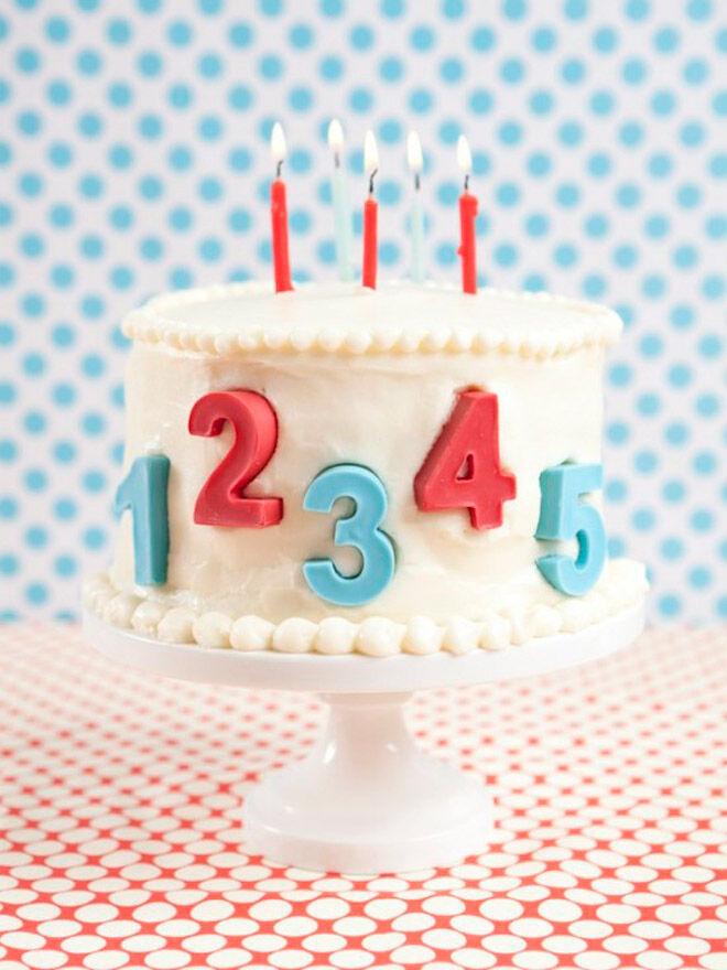 number cake birthday kids