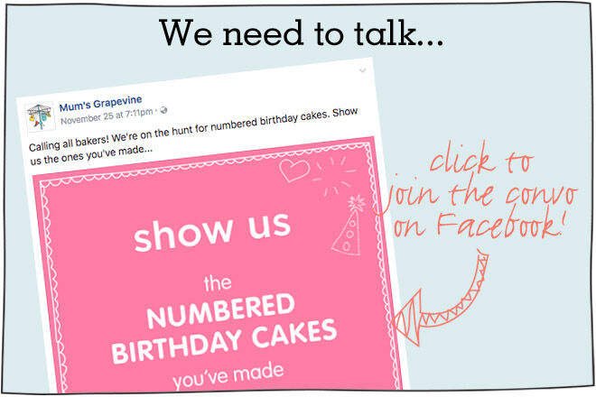 number cakes kids birthday