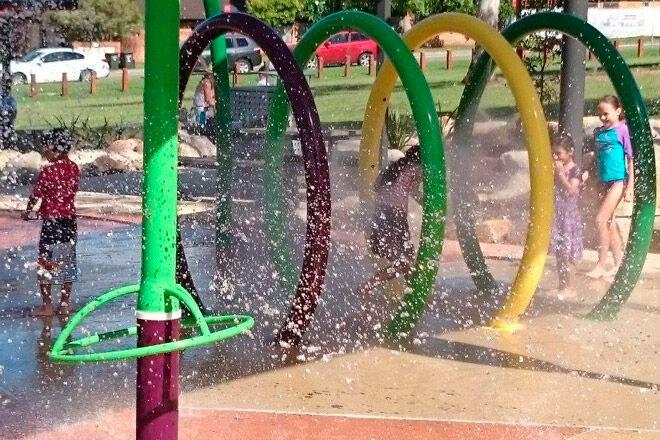 philip ruddock water playground sydney kids
