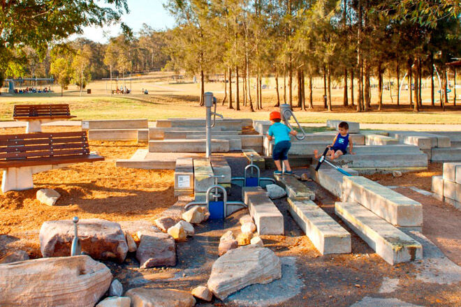 plough harrow playspace sydney water play