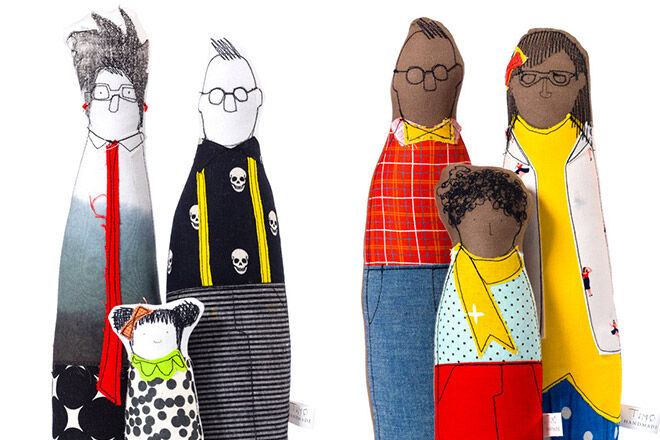 Timo Handmande Hip Handmade family dolls