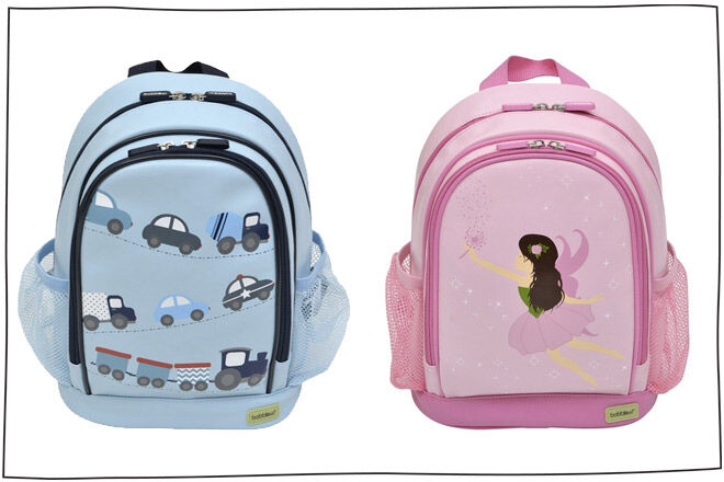 Bobble Art Toddler Backpacks