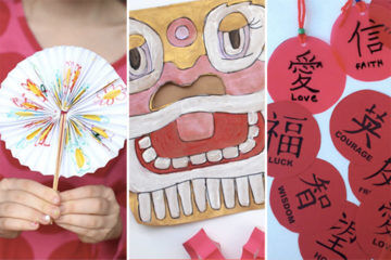 Chinese new year Rooster kids activities