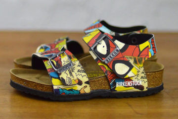 Superhero BF Spiderman Birkenstocks for kids
