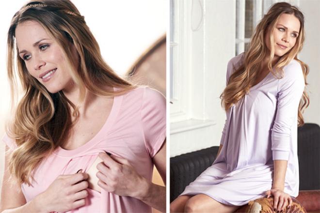 Floressa breastfeeding maternity hospital gown