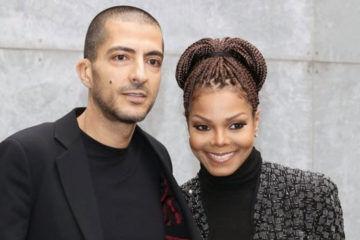 Singer Janet Jackson and her husband, Wissam al-Mana