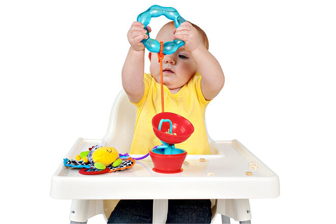 Grapple high chair toy