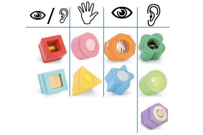 Le Toy Van Petilou Sensory Shape